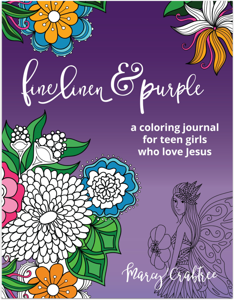 Fine Linen and Purple