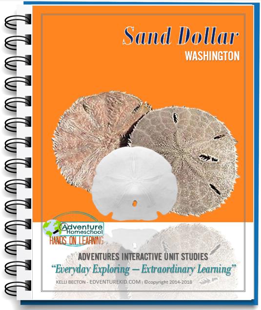 Sand Dollar Unit Study - Washington State Study