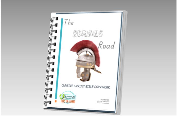 The Romans Road Copywork