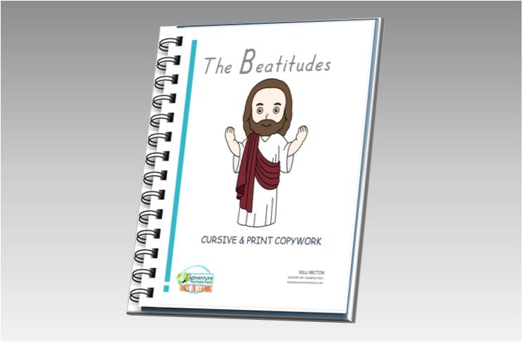 The Beatitudes Copywork