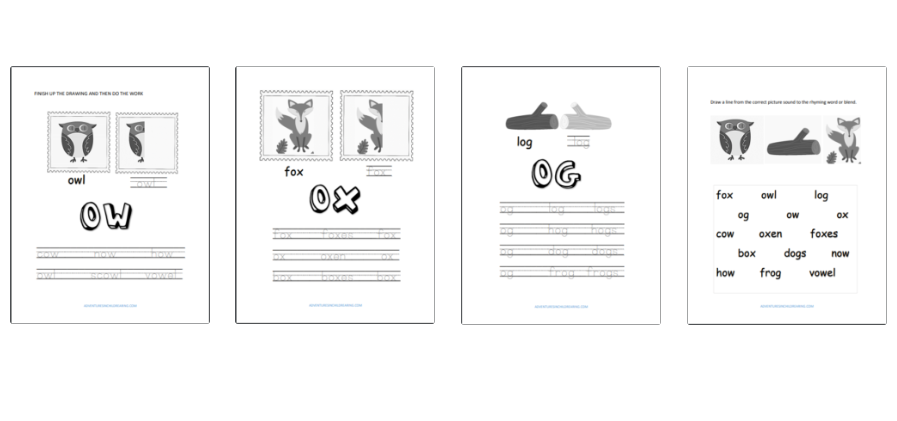 Beginning Sounds Dyslexia Worksheets