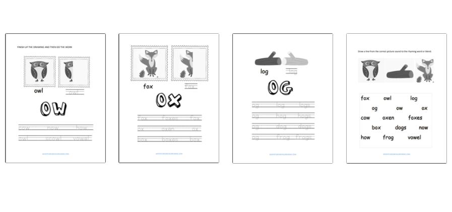 Beginning Sounds Dyslexia Worksheets