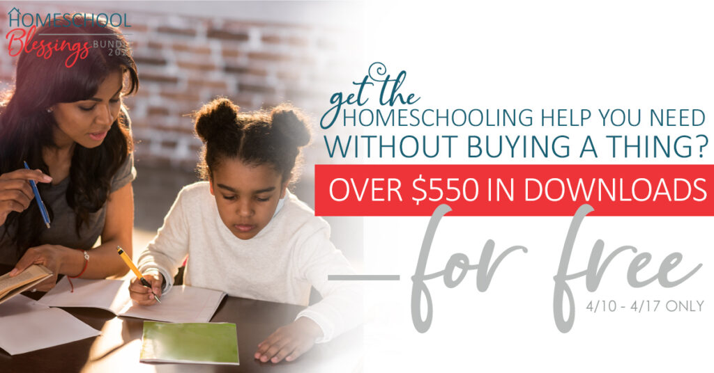 Free Homeschool Bundle 2020 - Resources