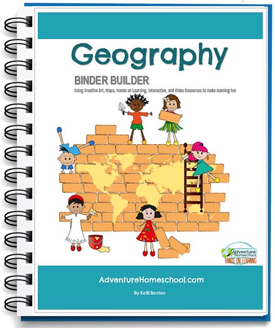 Geography Binder Builder