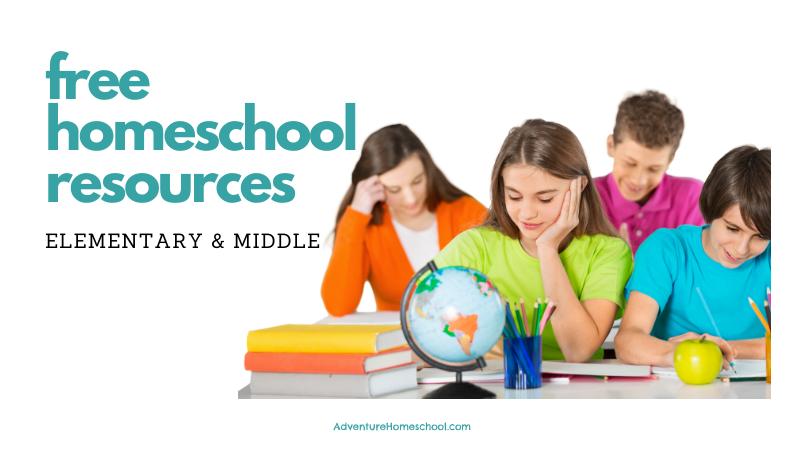 Free Homeschool Resources Elementary