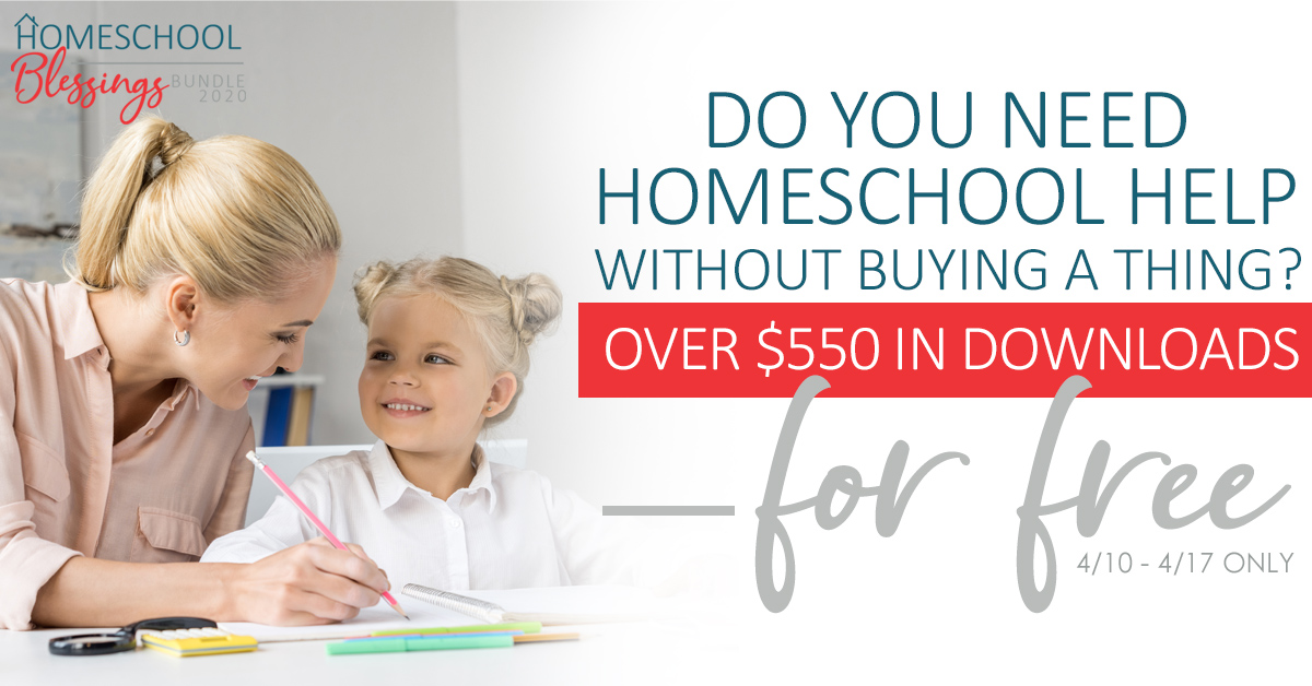 Free Homeschool Bundle