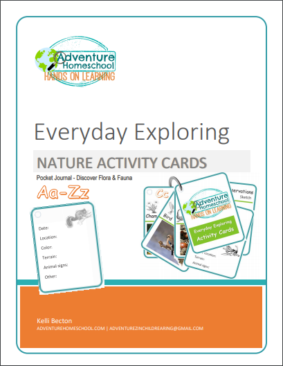 Everyday Exploring Nature Activity Cards