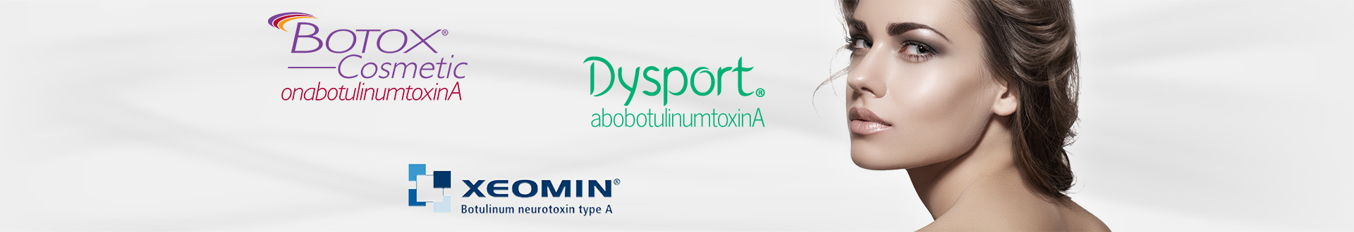 Botox, Xeomin, Dysport