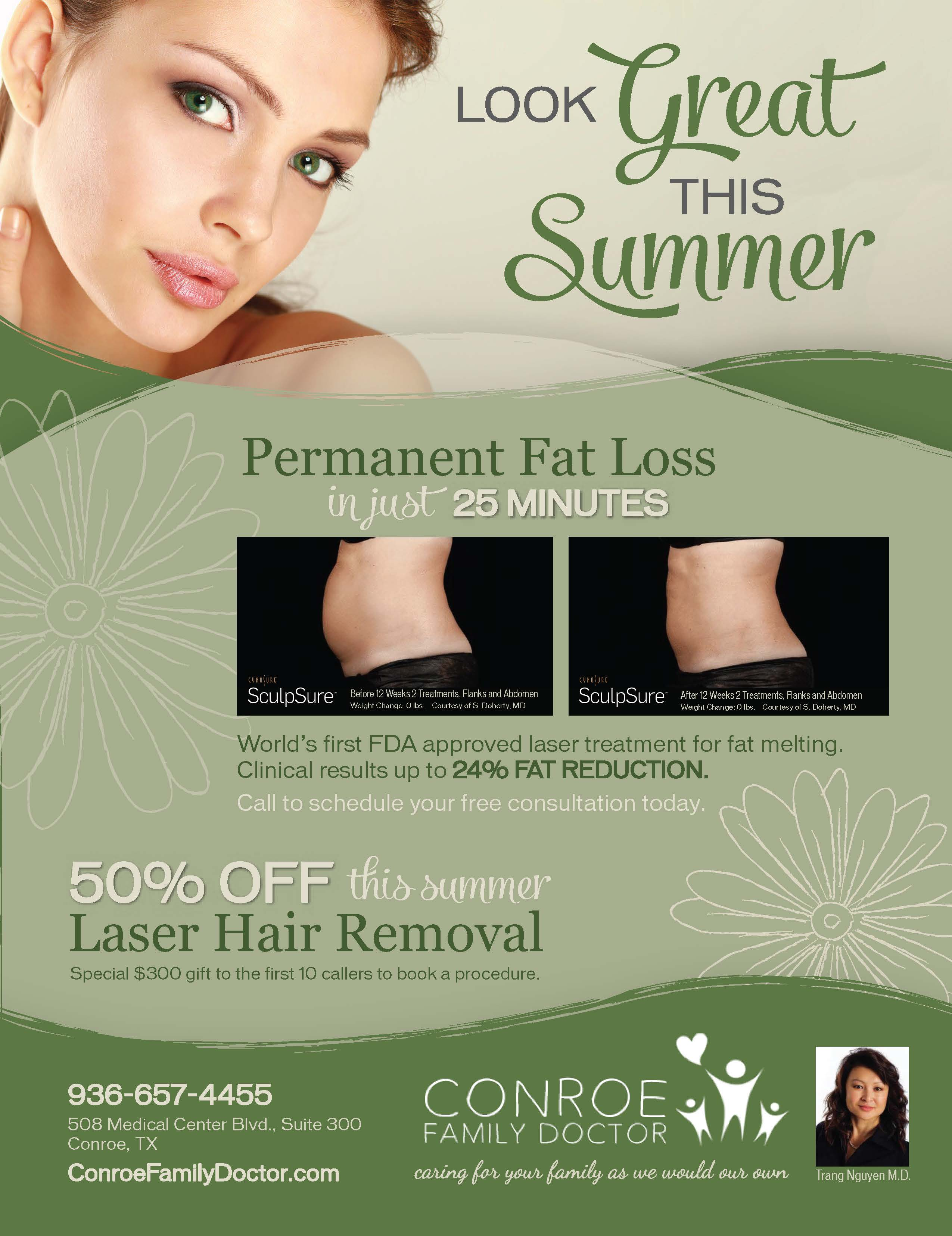Conroe Family Doctor Look Great This Summer Blog2
