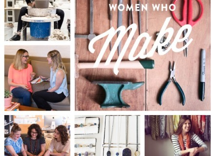 women who make centered by design