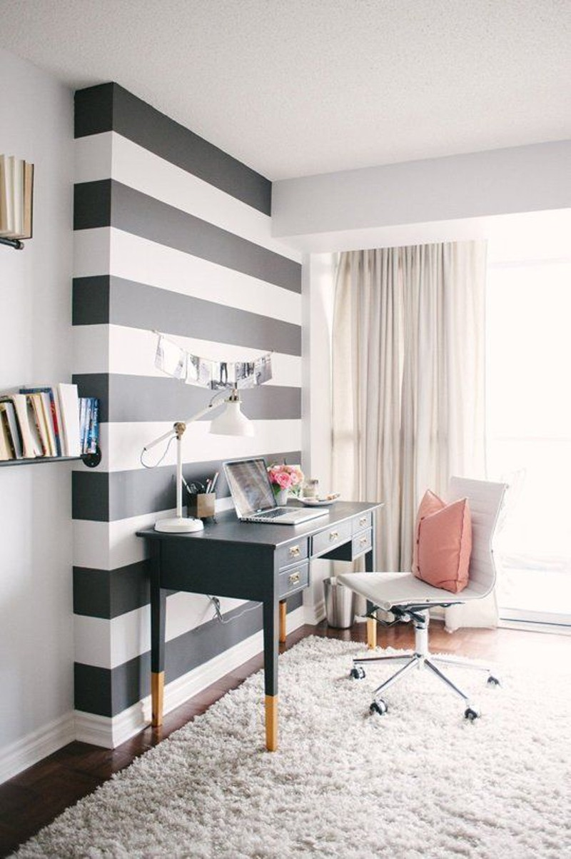 Office inspiration from Apartment Therapy.