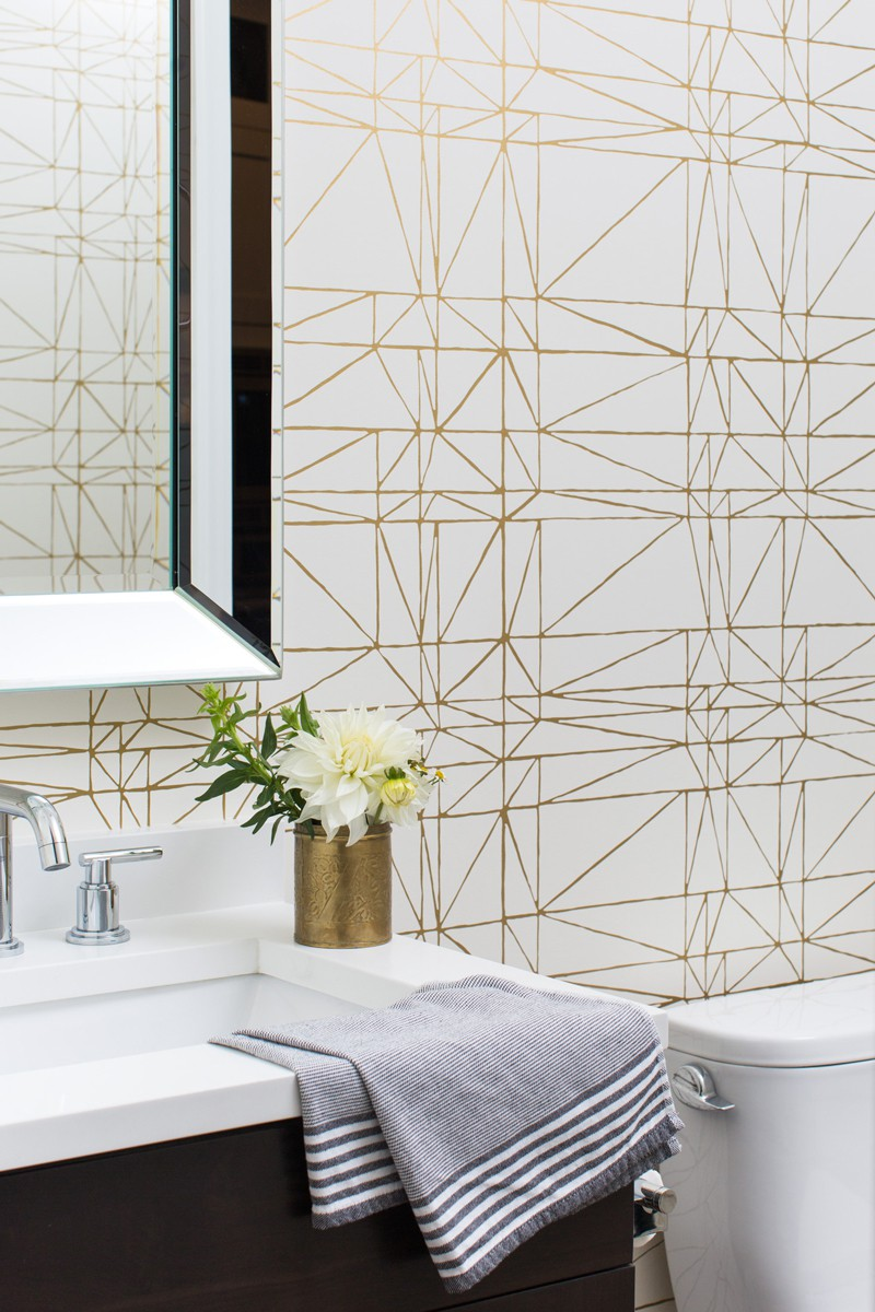 gold-and-white-wallpaper-powder-room-centered-by-design