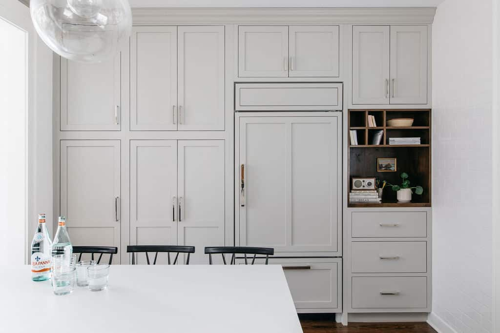 built-in-fridge-wall-cabinets