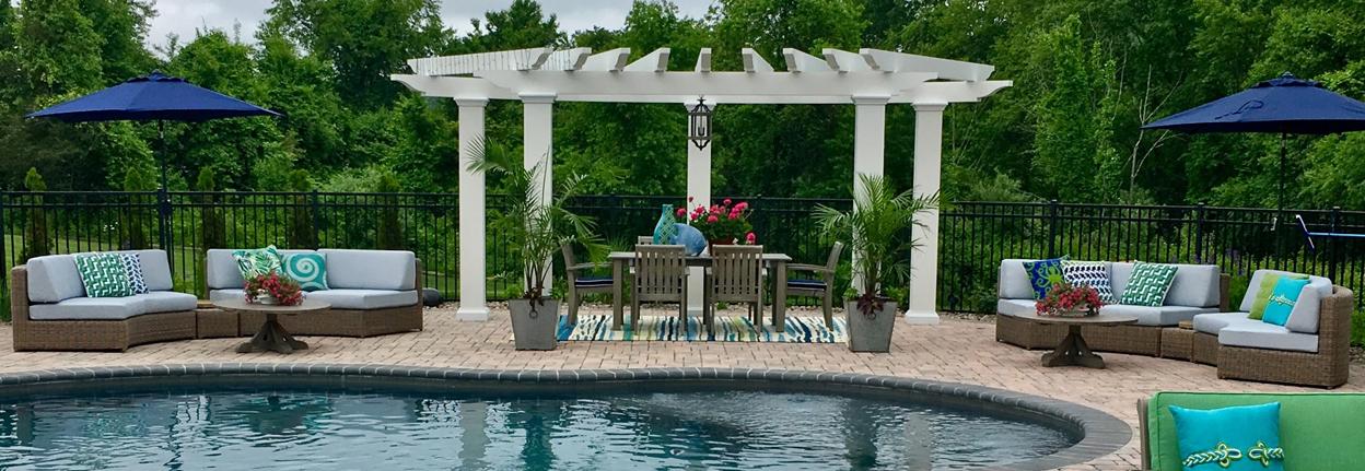 exterior design poolside playground