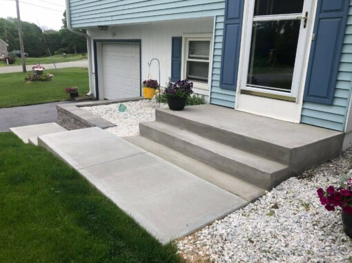 Pavers,Brick & Concrete Steps