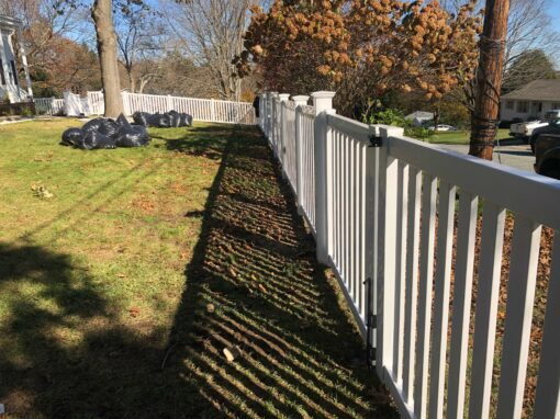 Wood, Vinyl, or Chain-Link Fence Installation