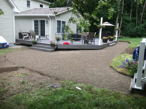 Mulch, Crushed-Stone, and Sod Installations