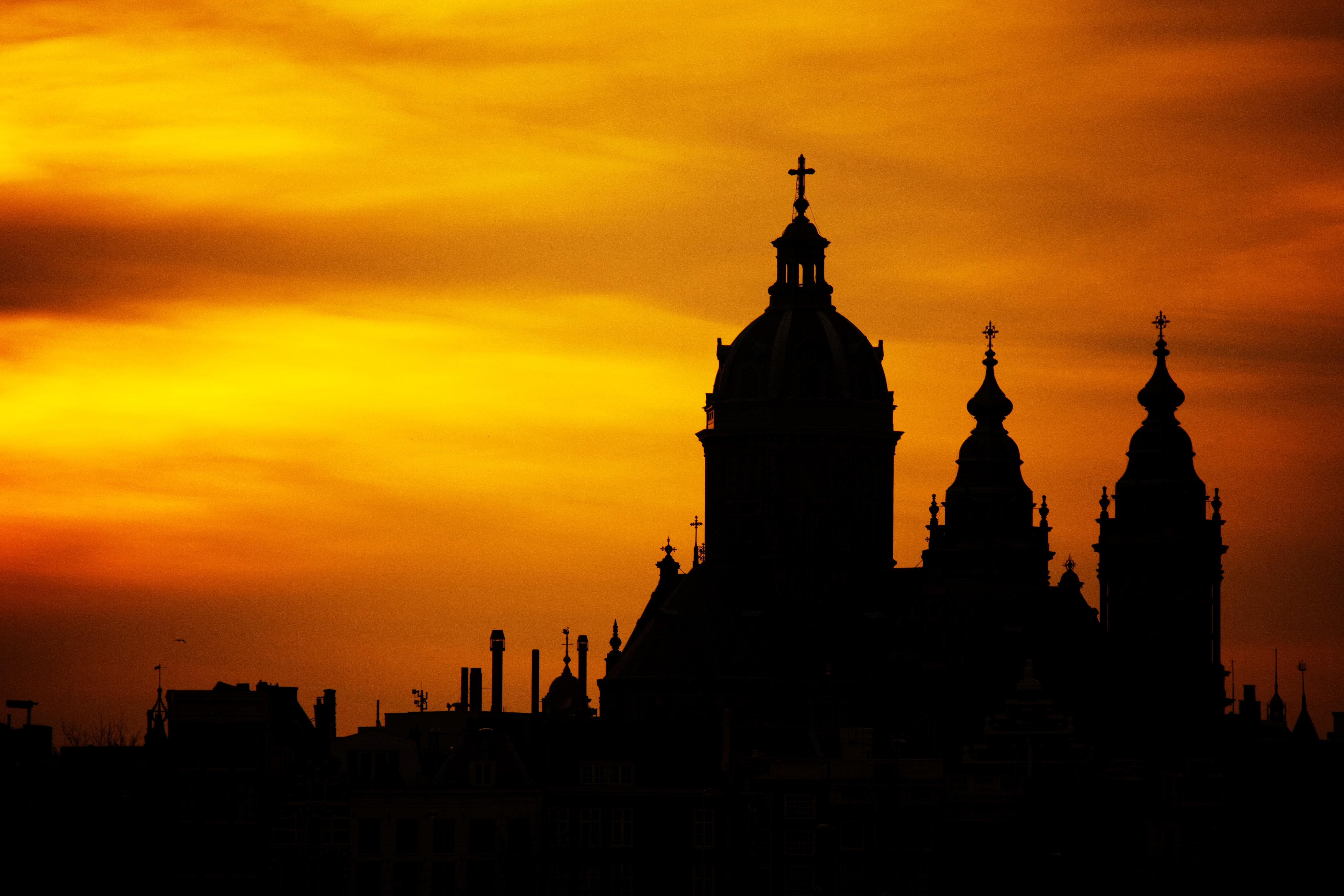 Cathedral Sunset
