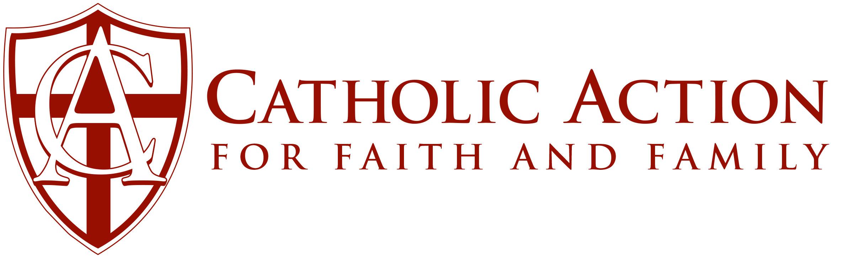 Catholic Action For Faith and Family Logo
