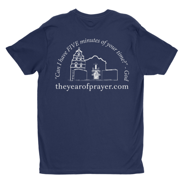 Year of Prayer Shirt Back
