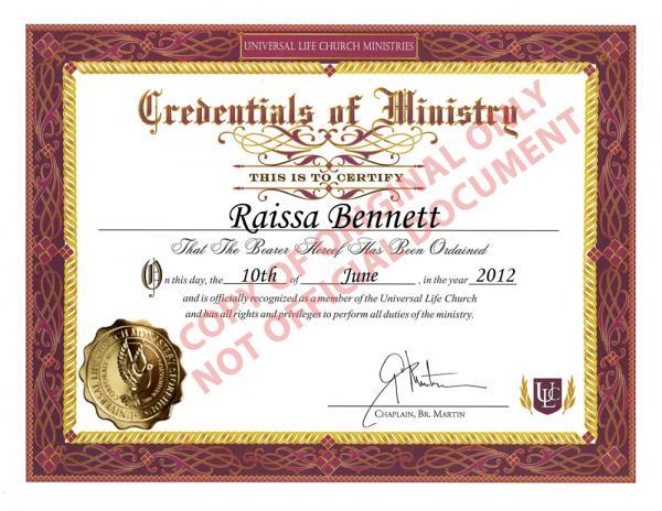 ordination-certificate-UmFpc3NhIEJlbm5ldHReMDYvMTAvMjAxMl5sYXJnZV5mcmVlXg,,