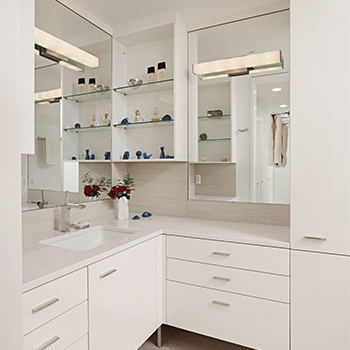 Custom Bathroom Cabinetry