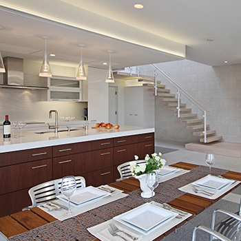 Dining, Kitchen & Stair