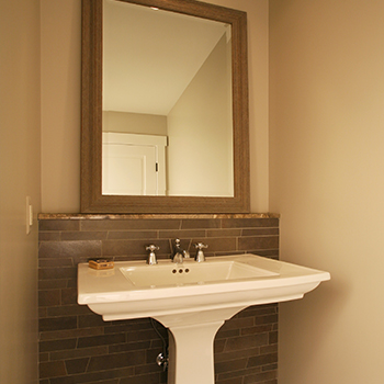 Cobblestone Powder Room