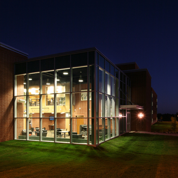 Dordt Cube at night