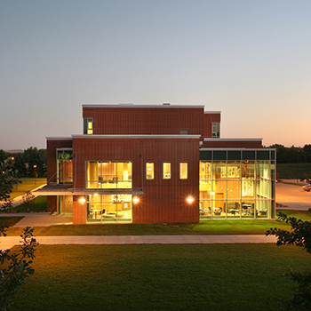 Dordt Exterior at Night