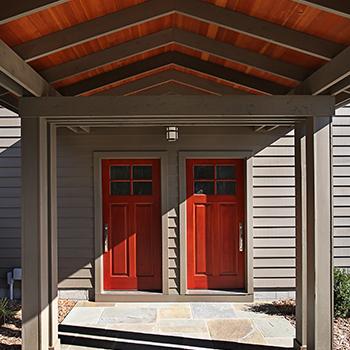 Garage & loft entry