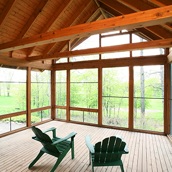 Heron Oaks Screened Porch