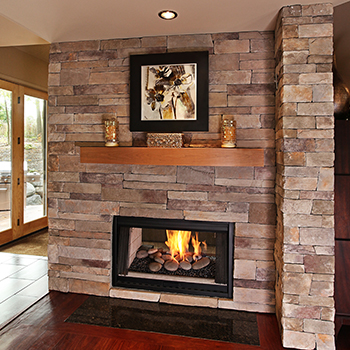 House 360 Fireplace