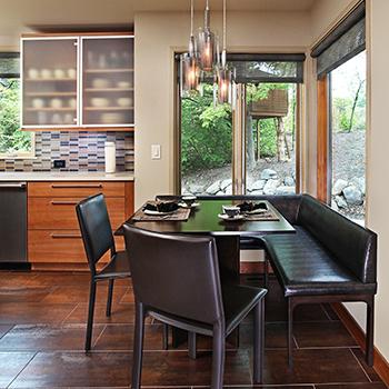 House 360 Kitchen nook