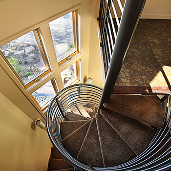 House 360 Spiral Stair