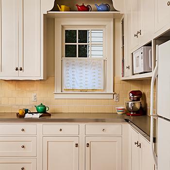 Sycamore kitchen detail