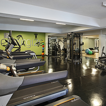 Woodland Mews Exercise Room