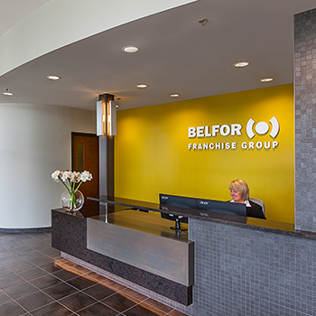 BELFOR Entry Reception