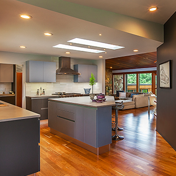 Huron Hills Overlook Kitchen