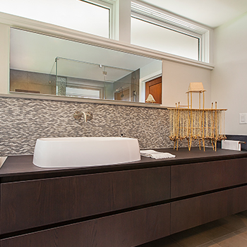 Huron Hills Overlook Master Bathroom Vanity