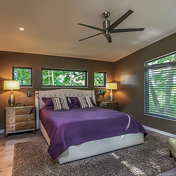House on the Arb Master Bedroom