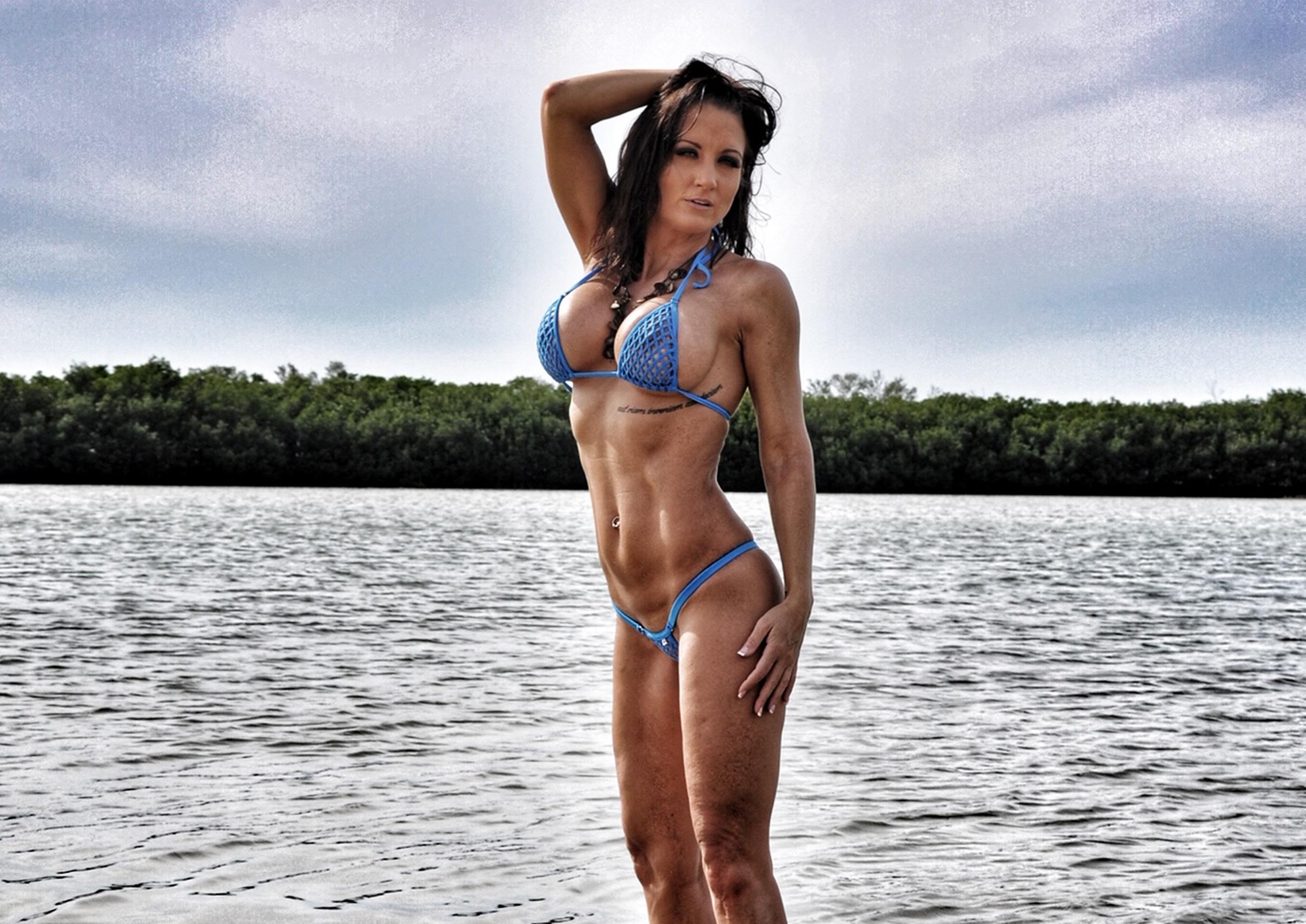 Sherri Gulley Wicked Weasel Bikini Model