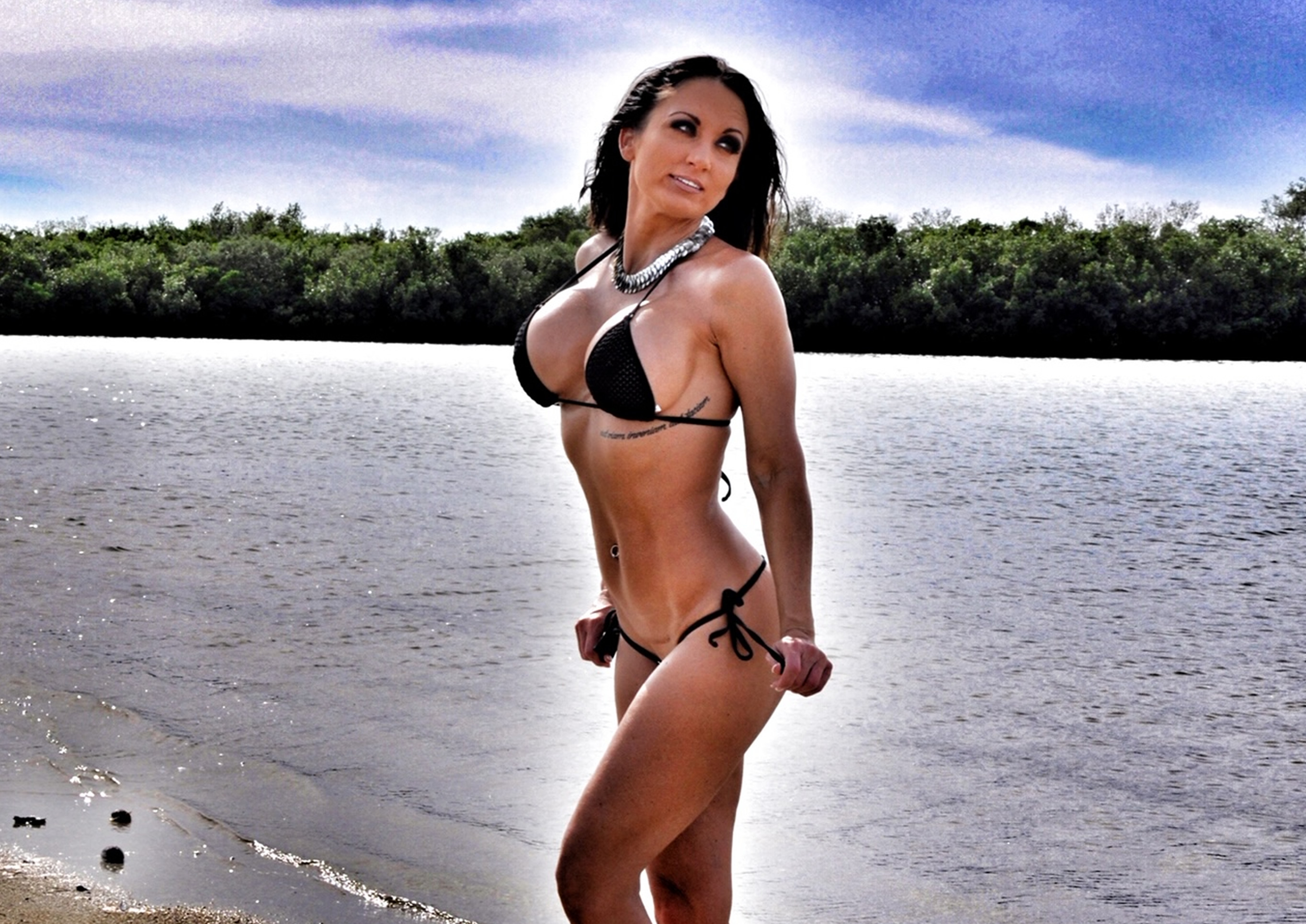 Sherri Gulley Wicked Weasel Bikini Model