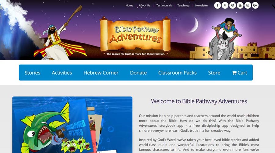 Pip Reid  |  Bible Pathway Adventures