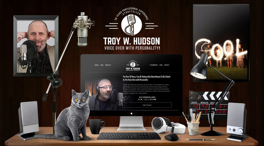 Troy W. Hudson  |  Voice Over with Personality