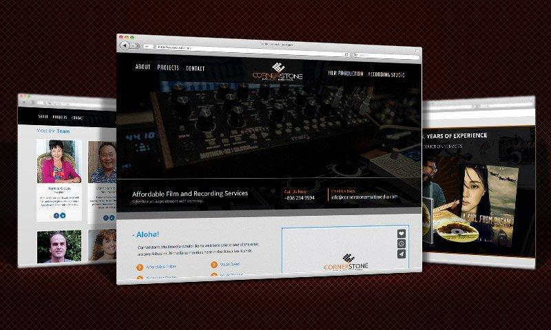 Cornerstone Multimedia Website Design