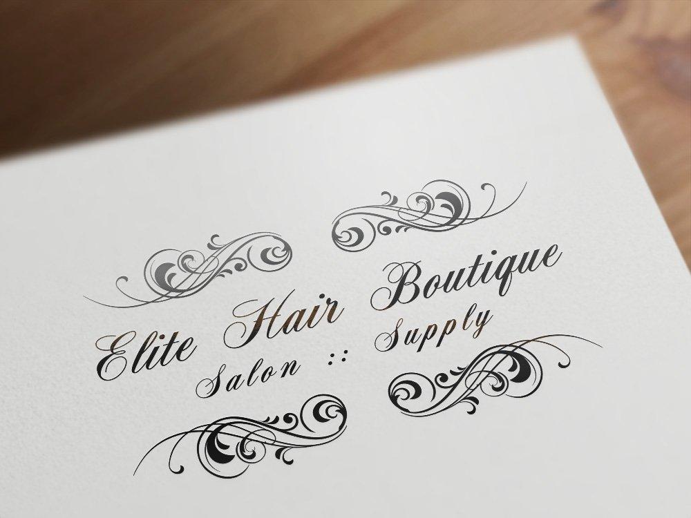 Logo Design | Elite Hair Boutique
