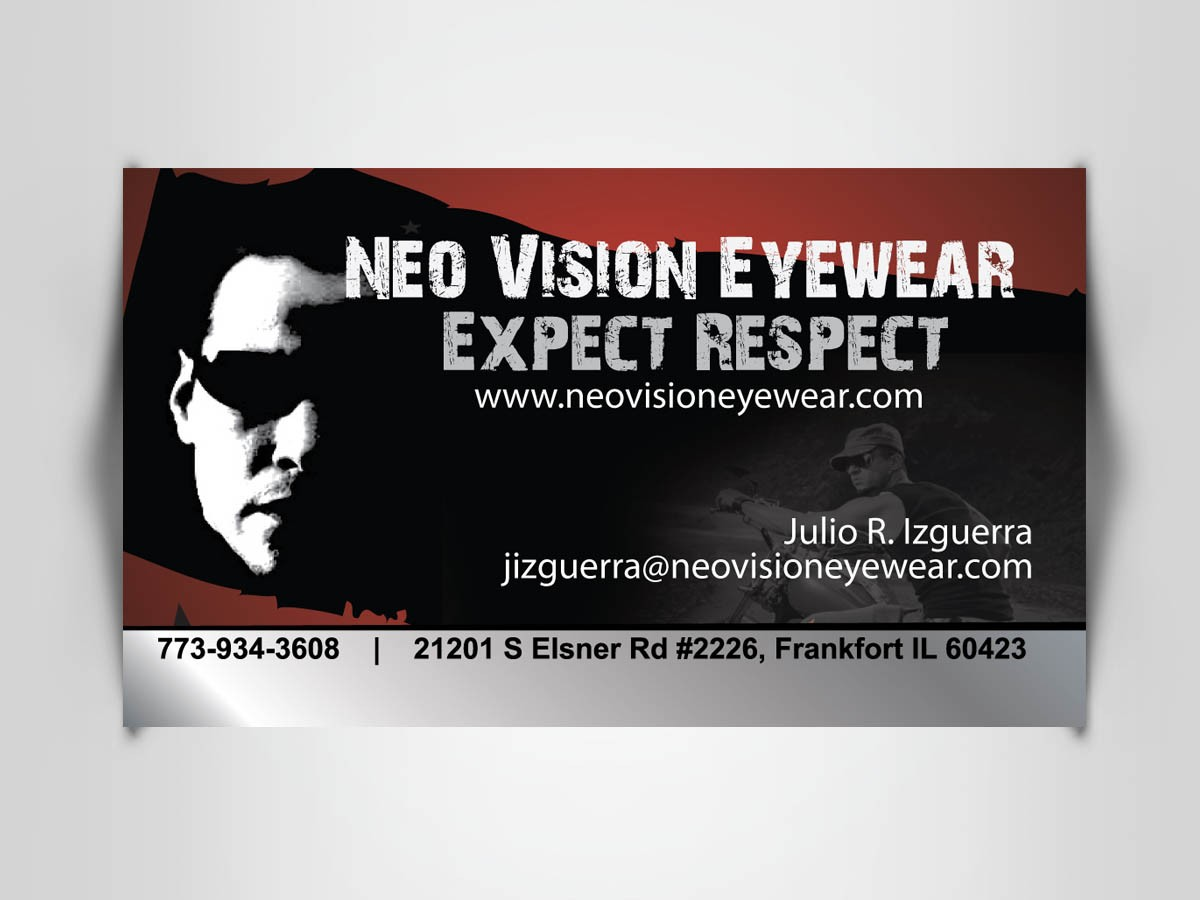 Business Card Design - Neo Eyewear