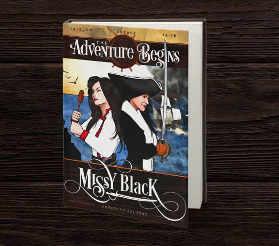 Youth Book Series Cover Design | Missy Black Pirate