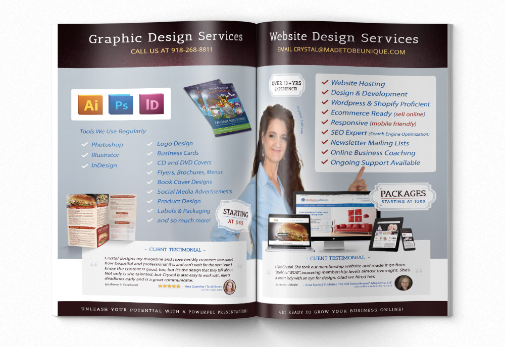 Business Brochure Design Inside